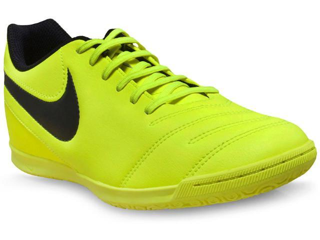 Tênis Masculino Nike 819234-707 Tiempox Rio Iii ic Verde Neon
