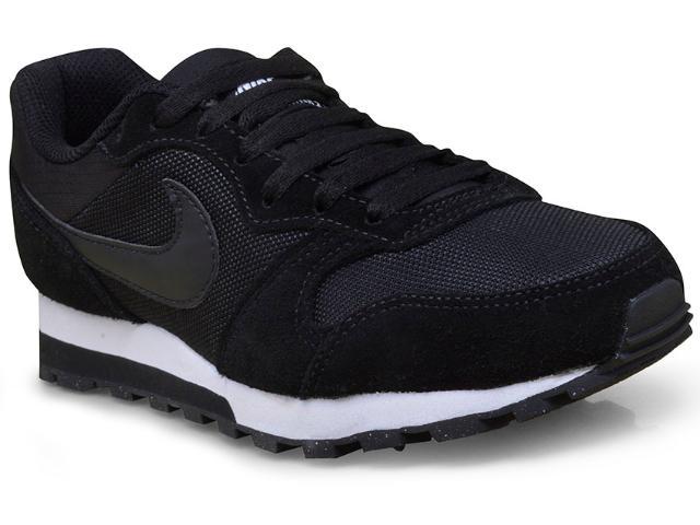 Tênis Feminino Nike 749869-001 md Runner 2 Preto/branco