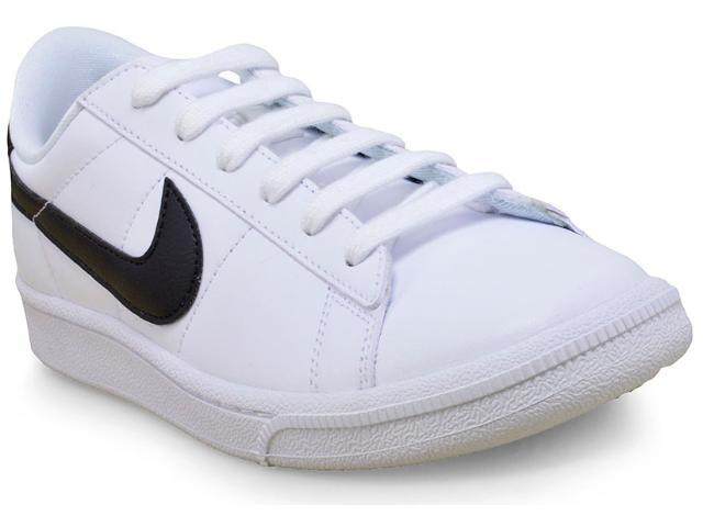 Tênis Feminino Nike 312498-130 Wmns Tennis Classic  Branco/preto