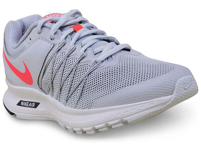 2e48d13e0f Tênis Feminino Nike 843883-009wmns Air Relentless 6 Msl Cinza Claro