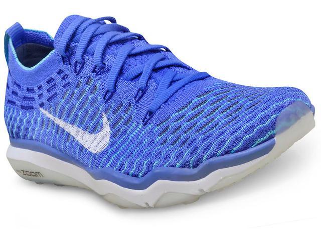 Tênis Feminino Nike 850426-400 w Air Zoom Fearless Flyknit Azul