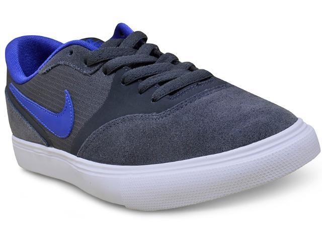 Tênis Masculino Nike 819844-050 sb Paul Rodriguez 9 vr Grafite/azul