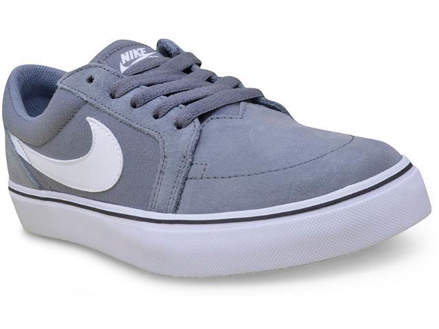 Tênis Masculino Nike 729809-010 sb Satire ii Cinza/branco