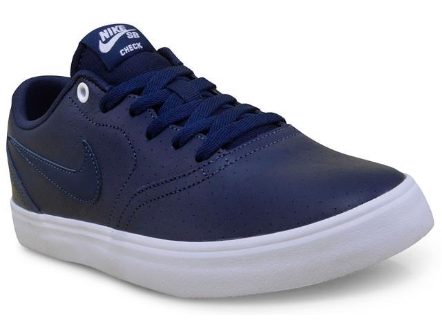 Tênis Masculino Nike 843900-441 sb Check Solar Prm Marinho