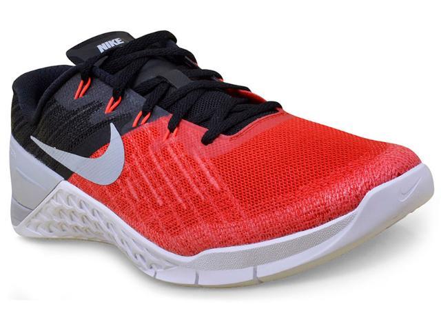 Tênis Masculino Nike 852928-600 Metcon 3 Vermelho/preto