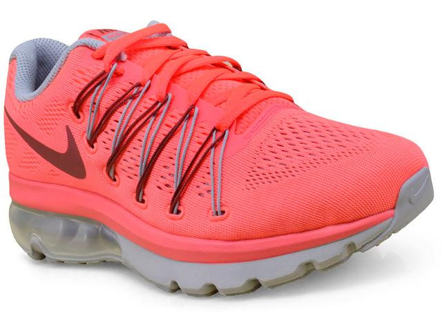 Tênis Feminino Nike 852693-600 Air Max Excellerate 5 Rosa Neon