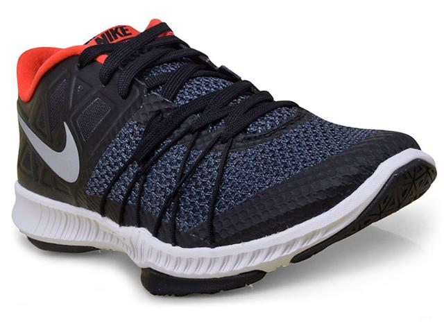 Tênis Masculino Nike 844803-005 Zoom Train Incredibly Fast  Preto