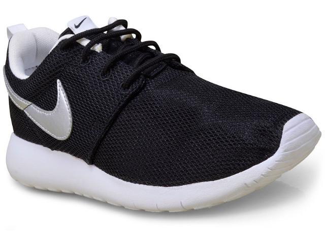 Tênis Feminino Nike 599728-021 Roshe One Preto/branco