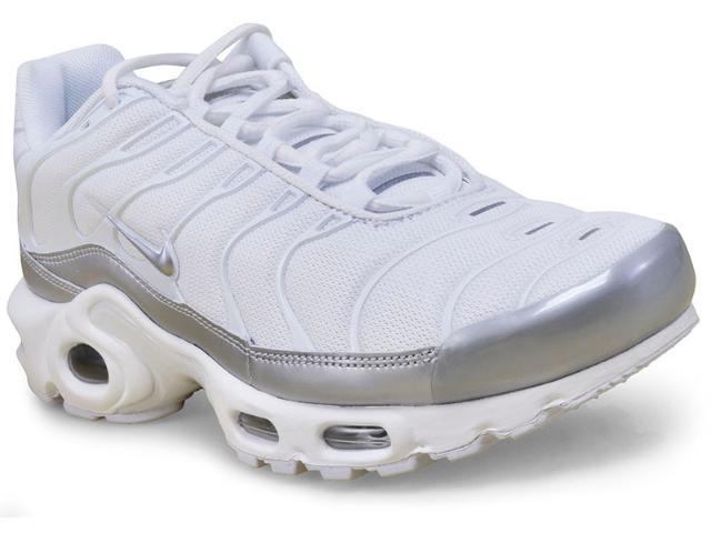 Tênis Masculino Nike 852630-102 Air Max Plus Branco