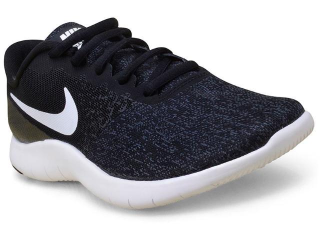Tênis Feminino Nike 908995-001 Flex Contact  Preto/branco
