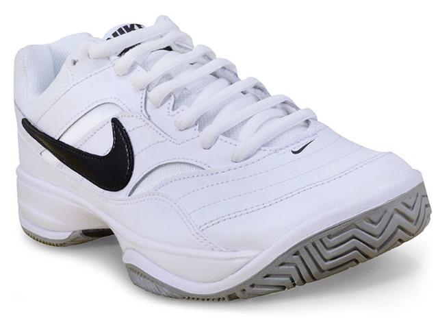 Tênis Masculino Nike 845021-100 Court Lite Branco/preto