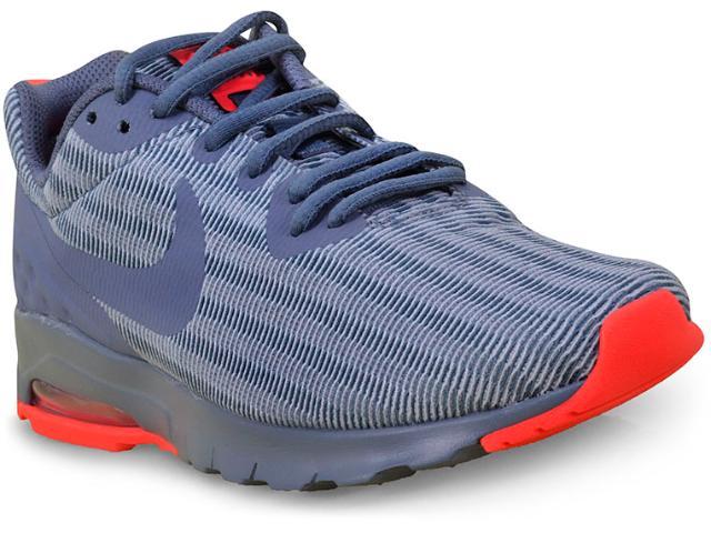 Tênis Feminino Nike 844895-403 Air Max Motion lw  Cinza/coral