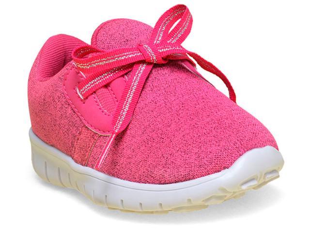 Tênis Feminino Novopé 1001226 Pink/branco