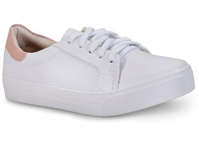 Tênis Feminino Odessa 23139 Branco/pele