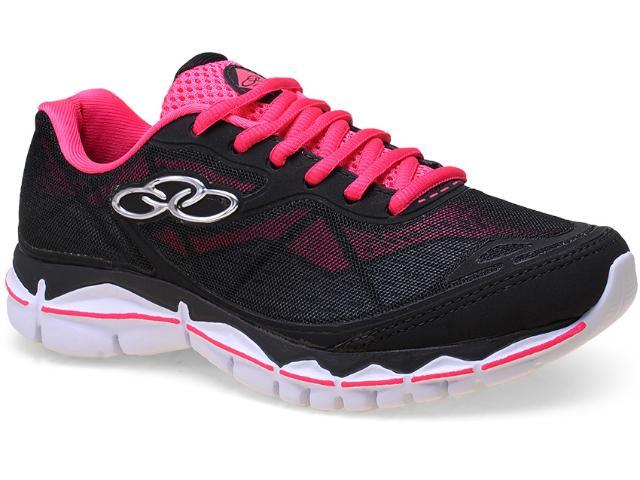 Tênis Feminino Olympikus Thin 064 Preto/pink