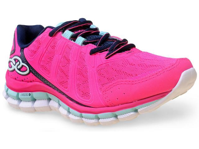 Tênis Feminino Olympikus Diffuse 181 Pink/marinho
