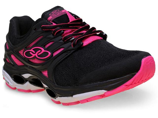 Tênis Feminino Olympikus Sprint 213 Preto/pink