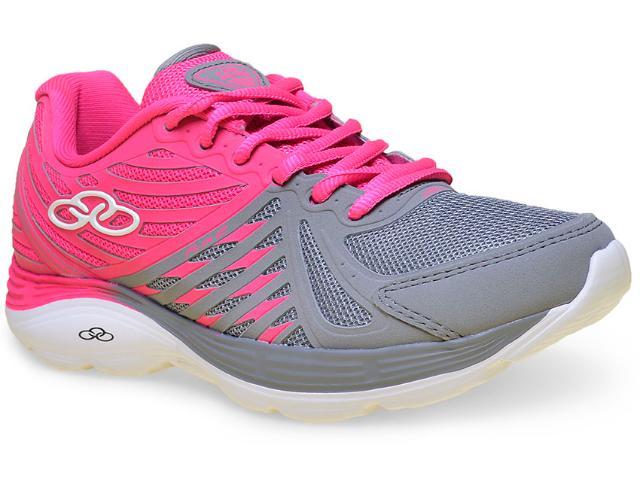 Tênis Feminino Olympikus Flix 2 219 Chumbo/pink