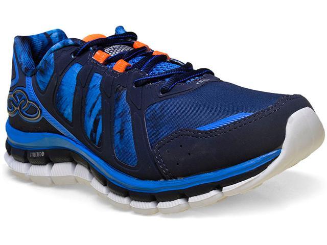 Tênis Masculino Olympikus Diffuse  Colors 252 Marinho/azul