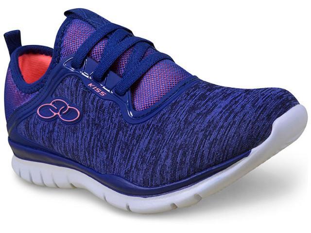 Tênis Feminino Olympikus Kiss 330 Cobalto/coral