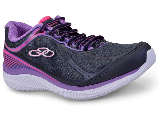 Tênis Feminino Olympikus Actual 422 Marinho/violeta