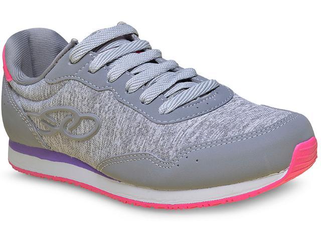 Tênis Feminino Olympikus Fancy 265 Cinza/pink