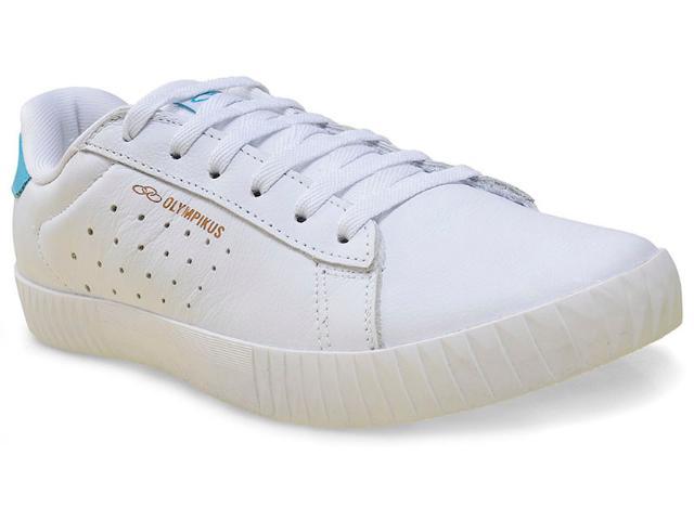 Tênis Masculino Olympikus New Walk  Branco/azul