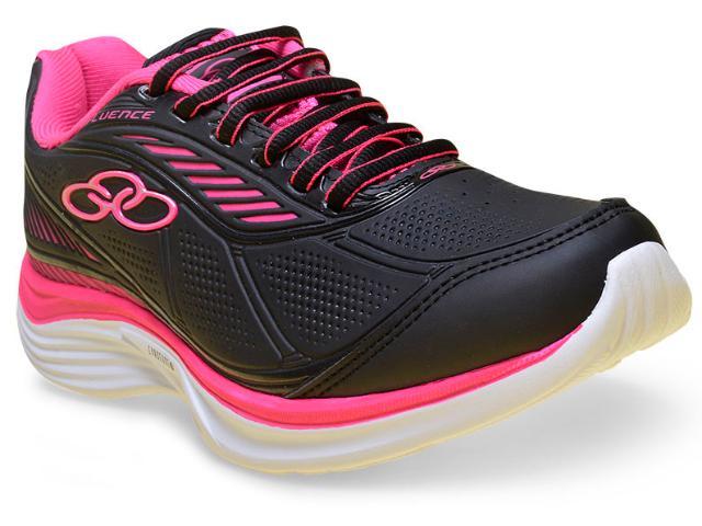 Tênis Feminino Olympikus Fluence 305 Preto/pink