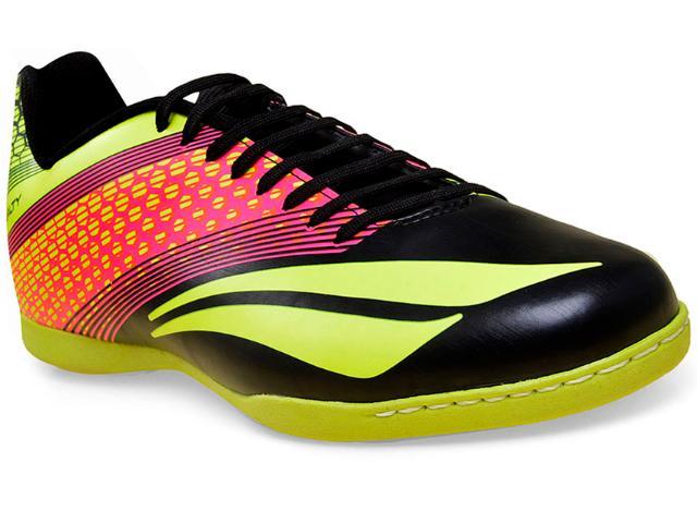 Tênis Masculino Penalty 1240859767 Victoria r1 2 vi Preto/amarelo/pink