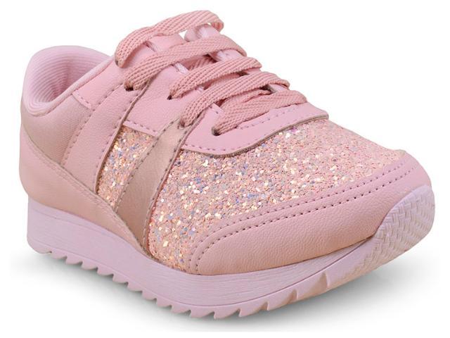 Tênis Fem Infantil Pink Cats W9034a Rosa
