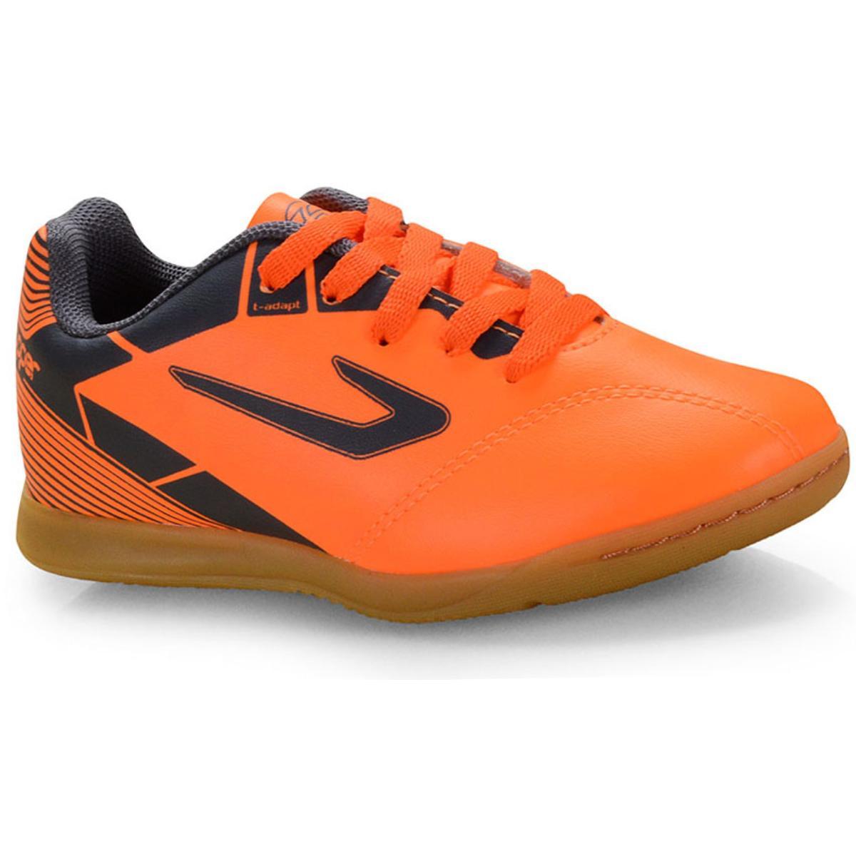 Tênis Masc Infantil Topper 42035404268 Cup ii Inf Futsal Laranja/cinza