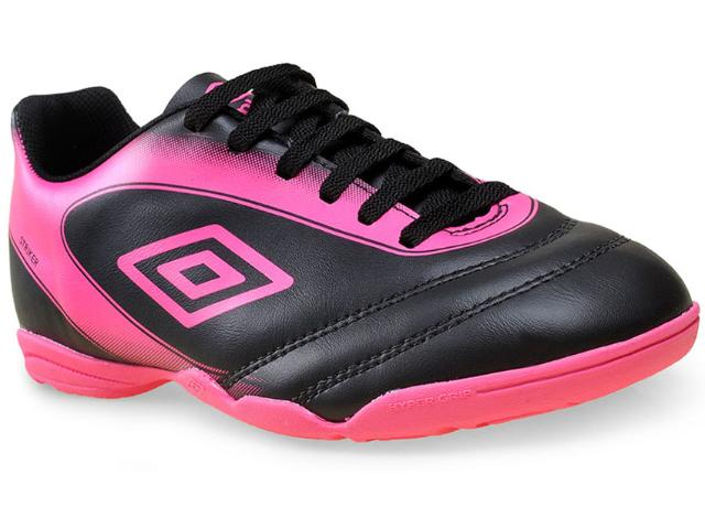 Tênis Feminino Umbro Of72038 101 Striker ii  Preto/pink
