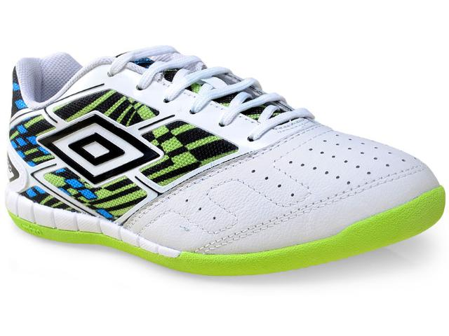 Tênis Masculino Umbro Of72046 215 Diamond Branco/preto/verde
