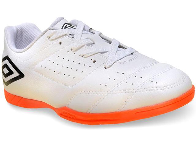 Tênis Masculino Umbro Of72060 16 id Salão Branco/preto/laranja