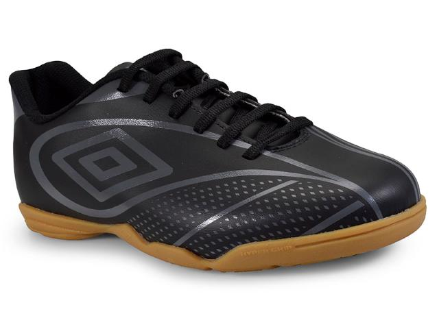 Tênis Masculino Umbro Of72094 181 Indoor Fury Preto/grafite