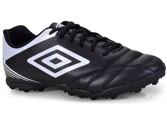 Tênis Masculino Umbro Of71086  122 Society Soccer Stricker iv Preto/branco
