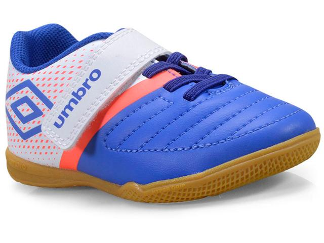 Tênis Masc Infantil Umbro Of82055 320 Spirity Kids Royal/branco/coral
