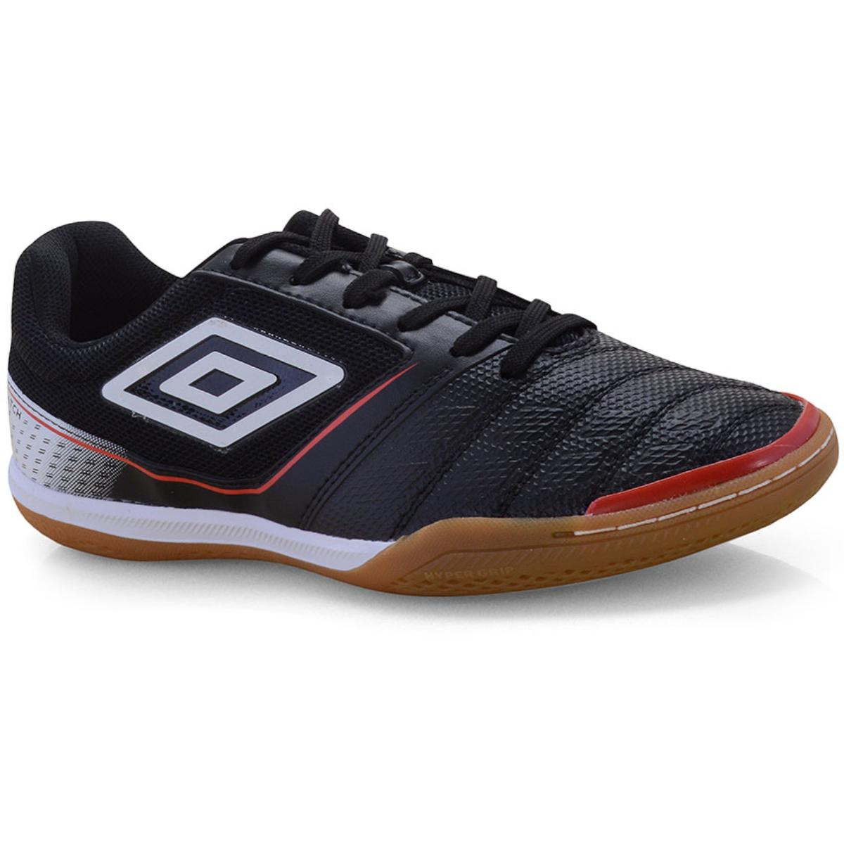 Tênis Masculino Umbro Of72128-124 Match Preto/branco/vermelho