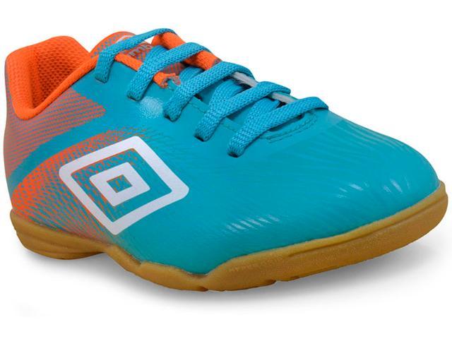 Tênis Masc Infantil Umbro Of82044 362 Azul/laranja/branco