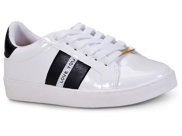 Tênis Feminino Vizzano 1214253 Branco/preto