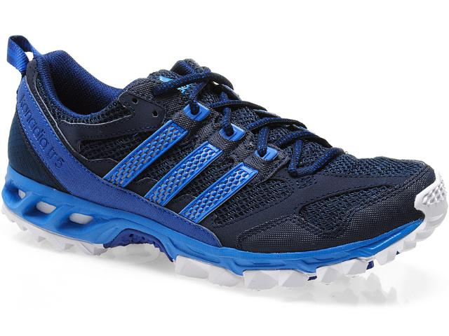 Tênis Masculino Adidas G97042 Kanadia 5m Chumbo/azul
