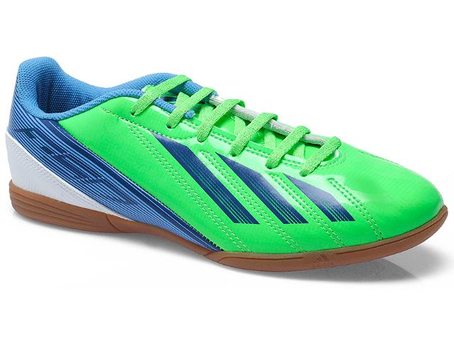 Tênis Masc Infantil Adidas Q22590 f5 in j Limão/azul
