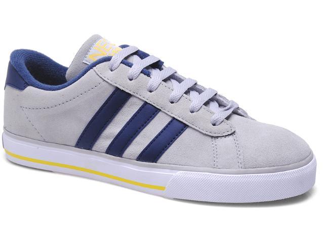 Tênis Masculino Adidas Q26222 se Daily Vulc Cinza/marinho