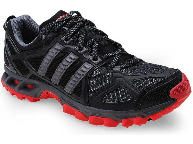 Tênis Masculino Adidas D66834 Kanadia 6m Preto/chumbo/vermelho