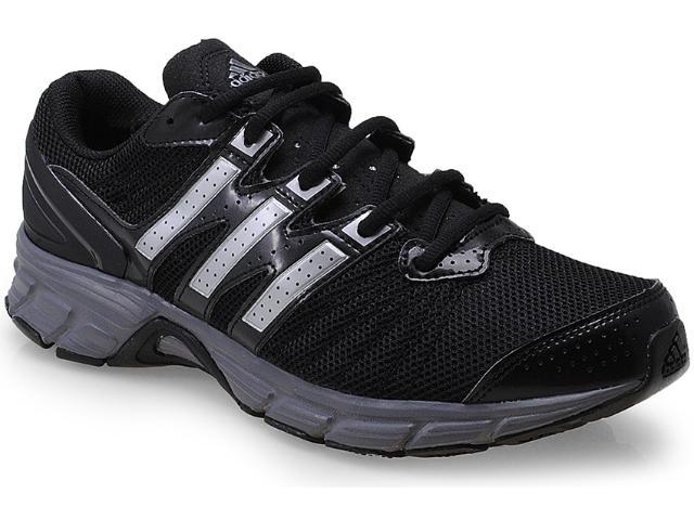 Tênis Masculino Adidas G97202 Roadmace m Preto/prata