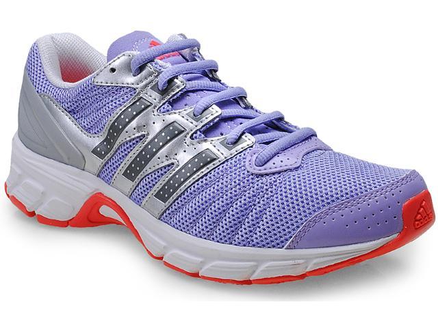 Tênis Feminino Adidas D67121 Roadmace w Lilas/prata/branco
