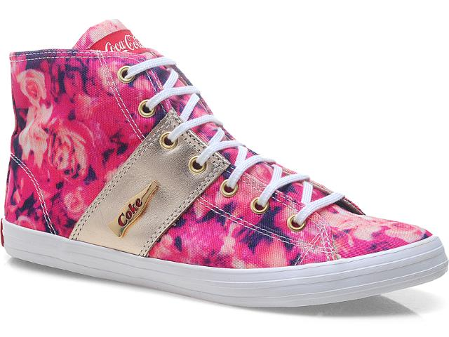 Tênis Feminino Coca-cola Shoes Cc0367 Rosa