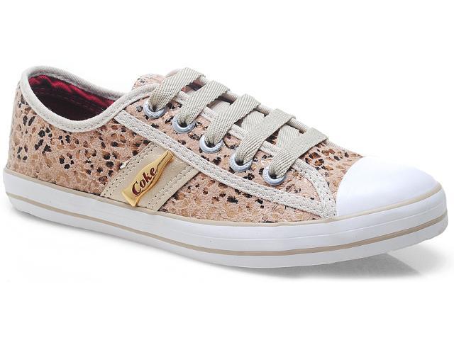 Tênis Feminino Coca-cola Shoes Cc0205 Onca