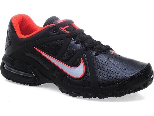 Tênis Masculino Nike 580430-001 Air Max Lte 3 sl br Preto/laranja