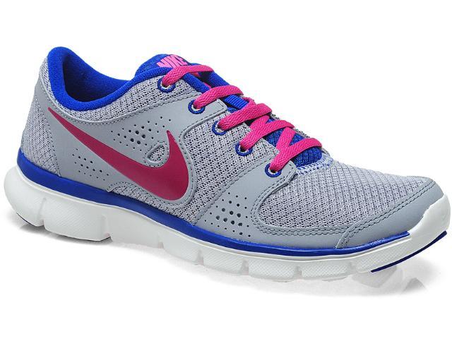 Tênis Feminino 525754-015 Wmns Nike Flex Experience Cinza/marinho/pink